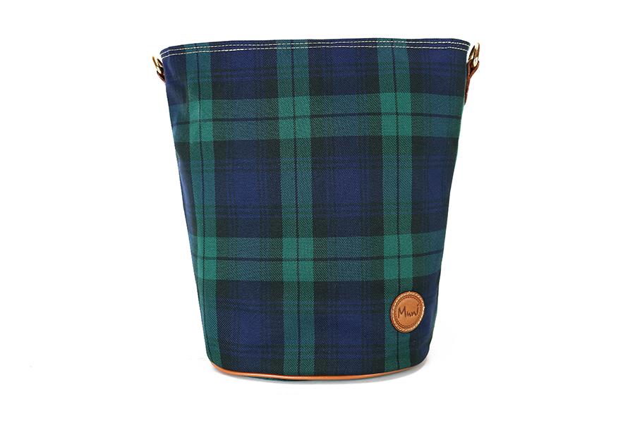 經典格紋大水桶包1