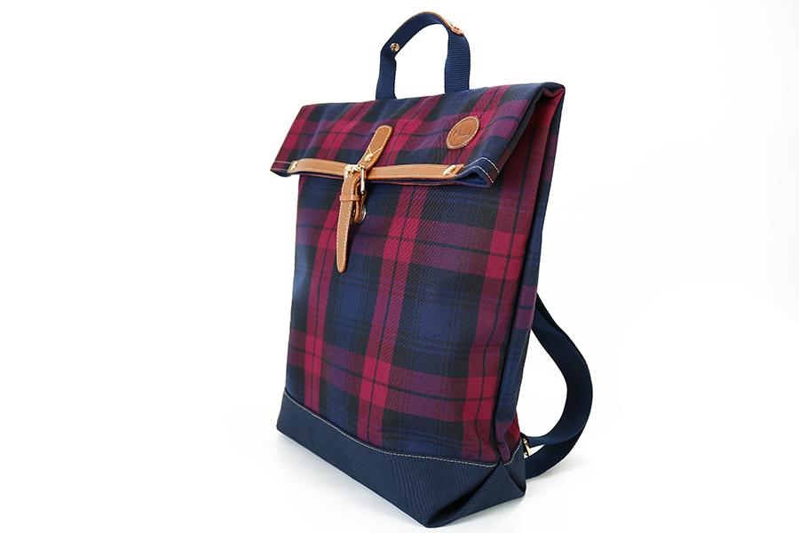 格紋日式後背包2
