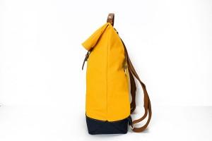 經典防潑水休閒反折雙色後背包_1