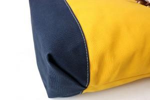 經典防潑水休閒反折雙色後背包_6