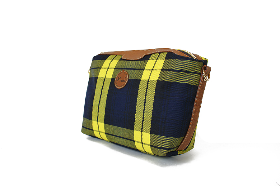 經典格紋小袋斜揹包2