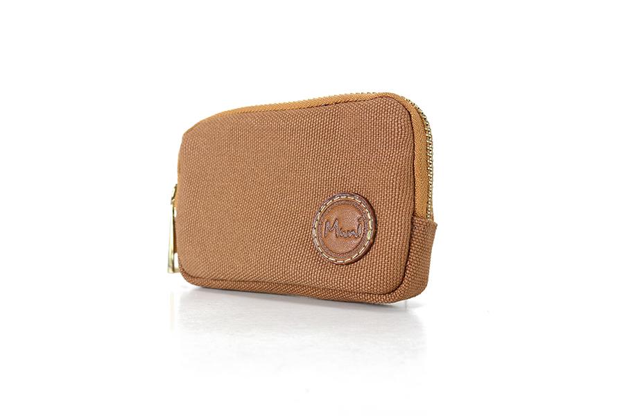 經典防潑水帆布零錢包2